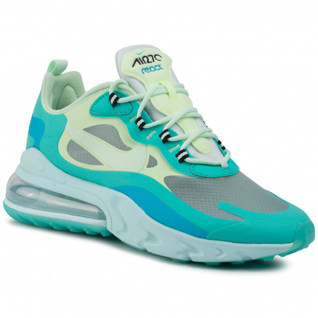 Shoes NIKE Air Max 270 React AO4971 301 Hyper JadeFrosted Spruce