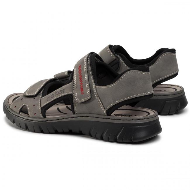 Sandalen RIEKER 26784 41 Grau