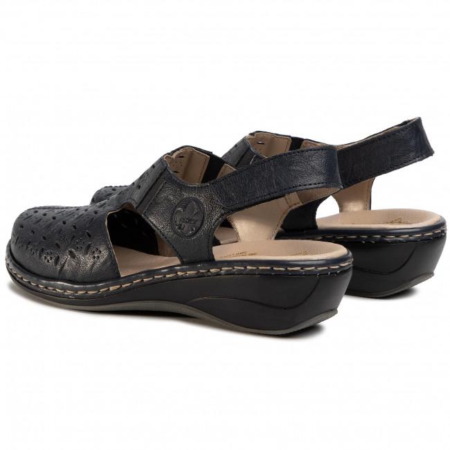 Sandals RIEKER 47776 14 Blau
