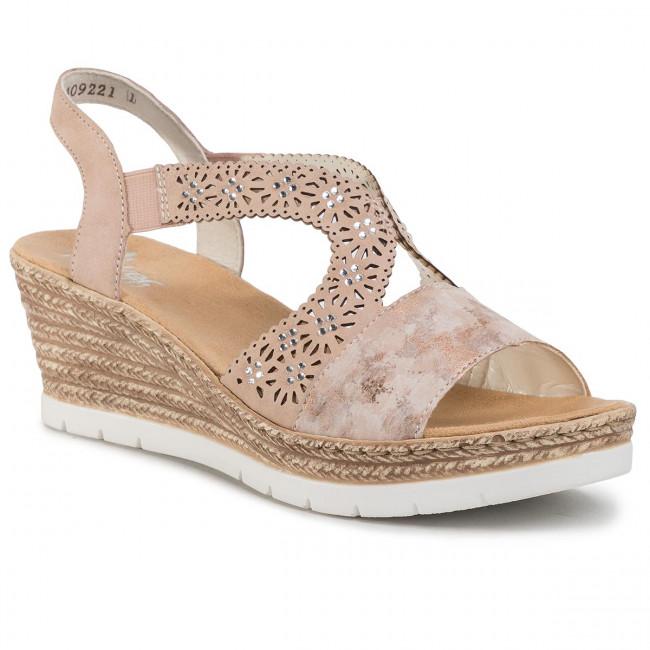 Sandals RIEKER 61916 31 Rosa