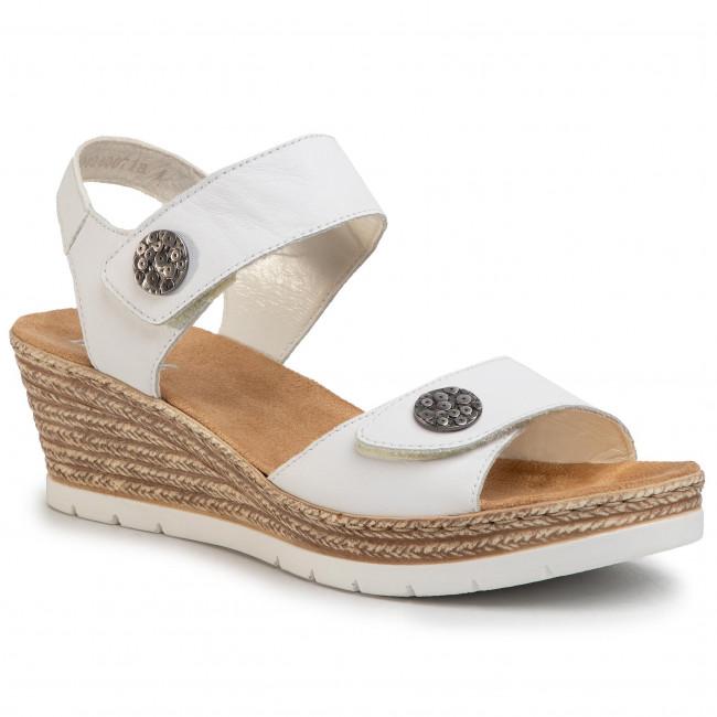 Sandals RIEKER 619B9 80 Weiss