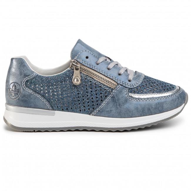 Sneakers RIEKER N7025 14 Blau Sneakers Low shoes nJgC1