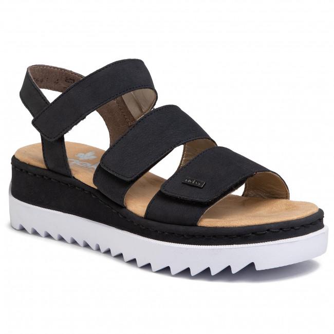Sandals RIEKER V4424 14 Blau
