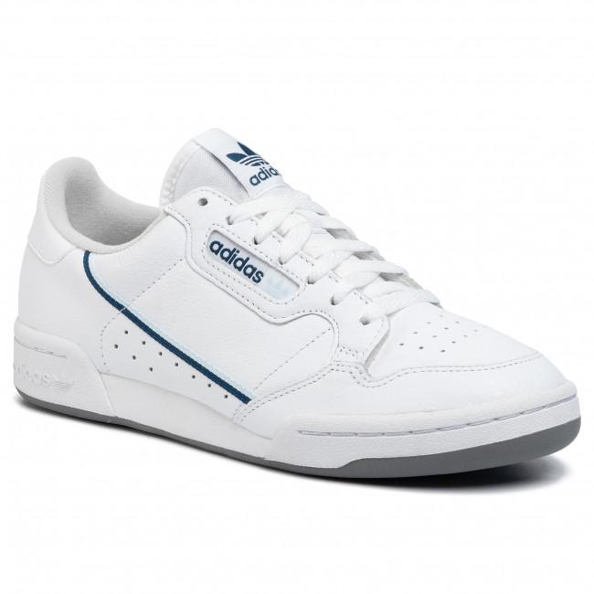 Generosidad Jabeth Wilson suma  Shoes adidas - Continental 80 EE5988 Ftwwht/Skytin/Legmar - Sneakers - Low  shoes - Men's shoes | efootwear.eu