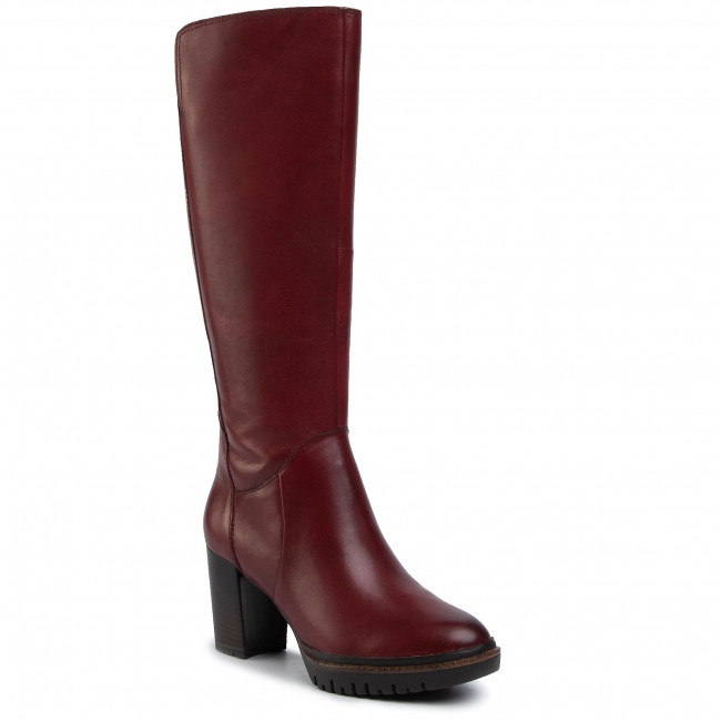 Knee High Boots TAMARIS 1 25616 23 Sangria 536