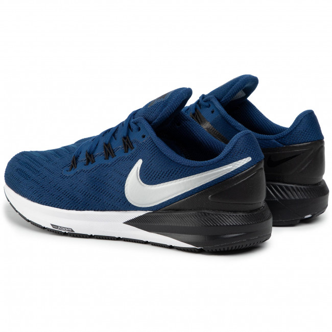 Shoes NIKE Air Zoom Structure 22 AA1636 406 Coastal BlueChrome Black