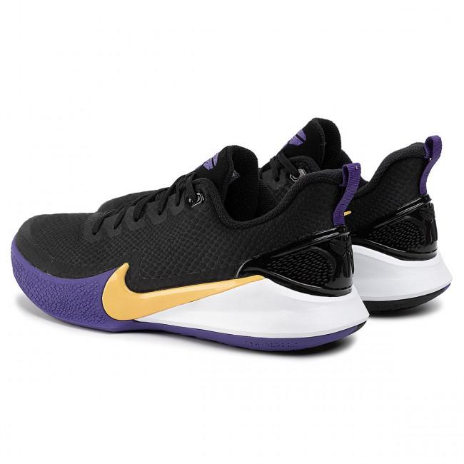 Shoes NIKE Mamba Focus AJ5899 005 BlackAmarilloField Purple