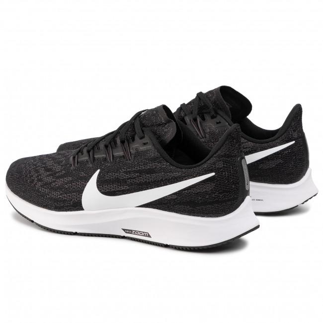 Shoes NIKE Air Zoom Pegesus 36 (4E) AQ2205 001 BlackWhiteThunder Grey