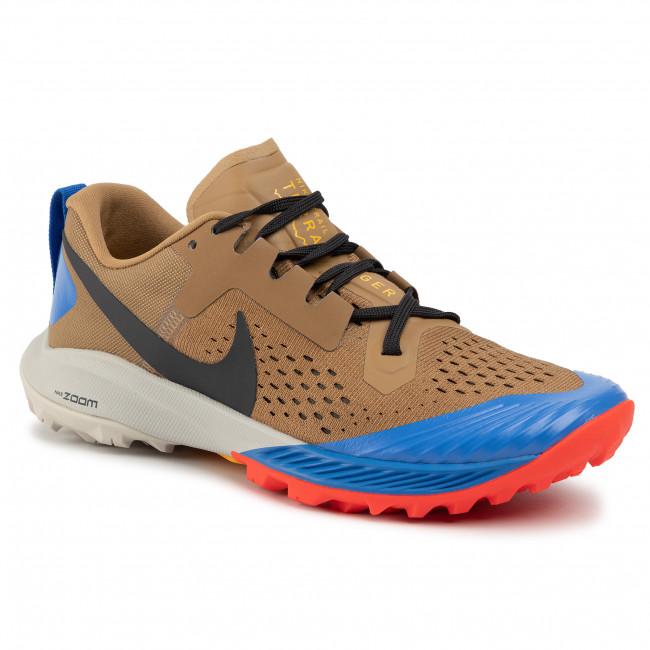Shoes NIKE Air Zoom Terra Kiger 5 AQ2219 200 BeechtreeOff NoirCargo Khaki