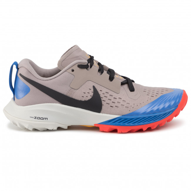 Shoes NIKE Air Zoom Terra Kiger 5 AQ2220 200 PumiceOil GreyPacific Blue