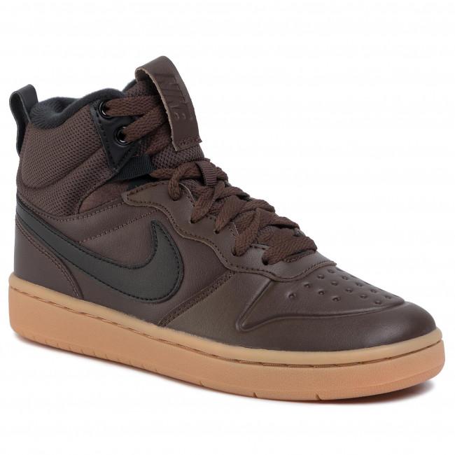 Shoes NIKE - Court Borough Mid 2 Boot (GS) BQ5440 200 Baroque Brown/Black