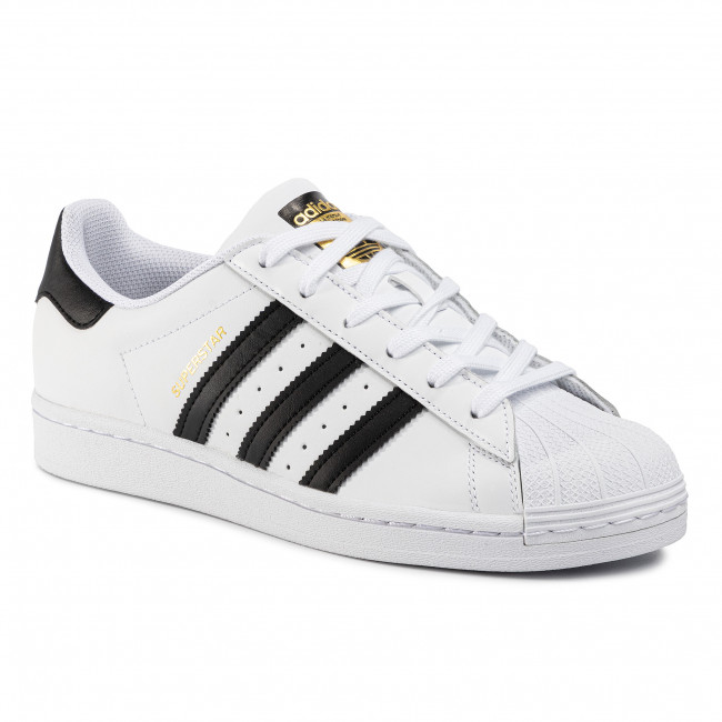 adidas Superstar shoes blackwhite
