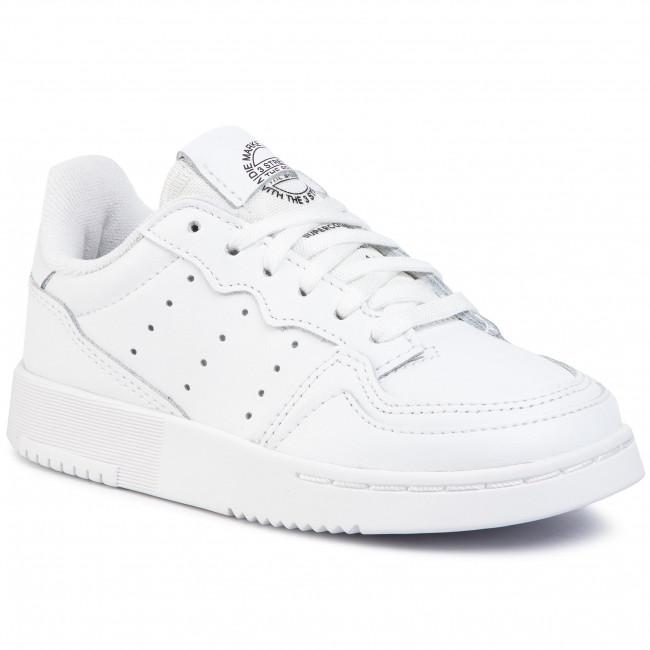 Shoes adidas - Supercourt C EG0411 Ftwwht/Ftwwht/Cblack