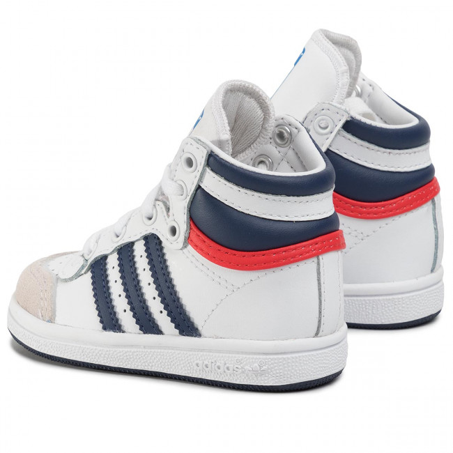Shoes adidas Top Ten Hi I M25303 FtwwhtDkblueRed Boots