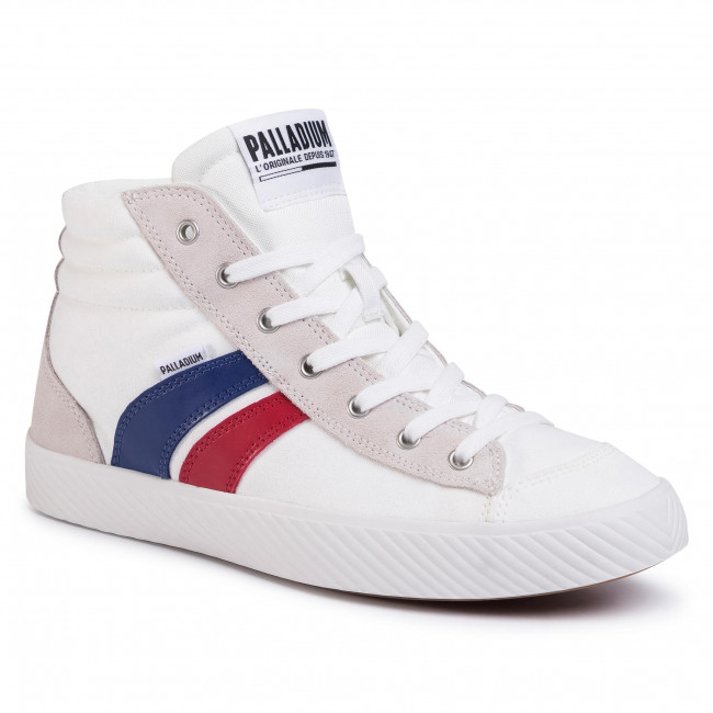 Sneakers PALLADIUM - Pallaphoenix Cuff Rto 76191-195-M Star White/French