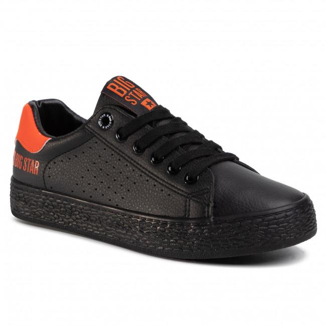 Sneakers BIG STAR - FF274484 Black/Orange