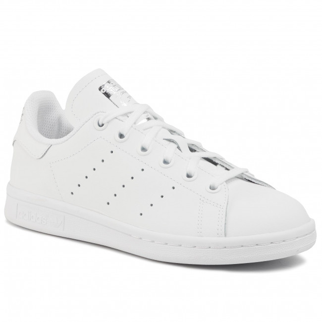 Shoes adidas - Stan Smith J EF4913 Ftwwht/Ftwwht/Silvmt