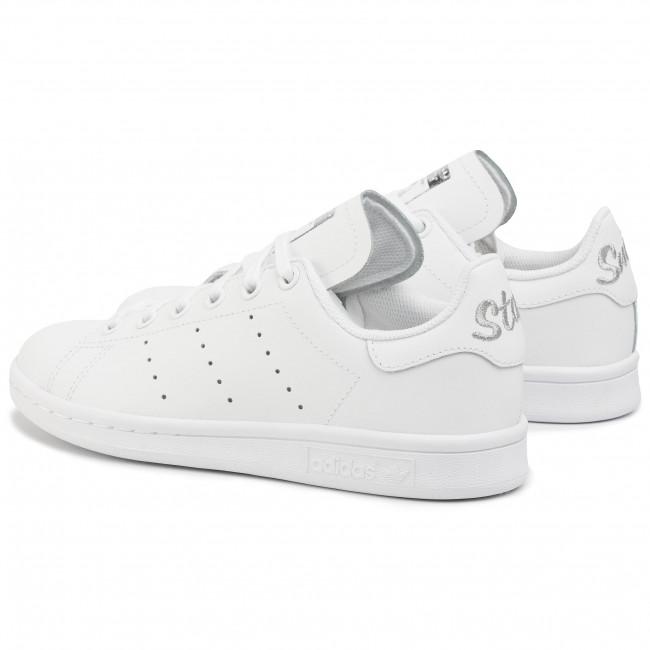 Shoes adidas Stan Smith J EF4913 FtwwhtFtwwhtSilvmt