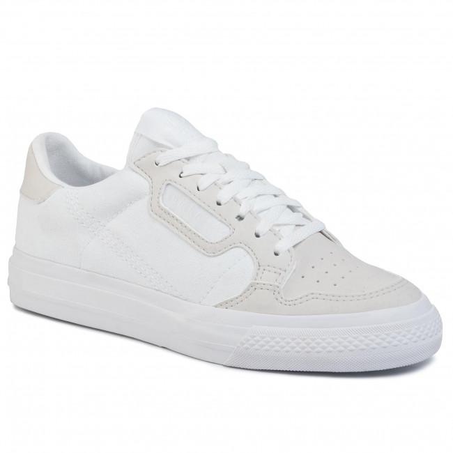 Shoes adidas - Continental Vulc J EF9449  FtwwhtFtwwht/Greone