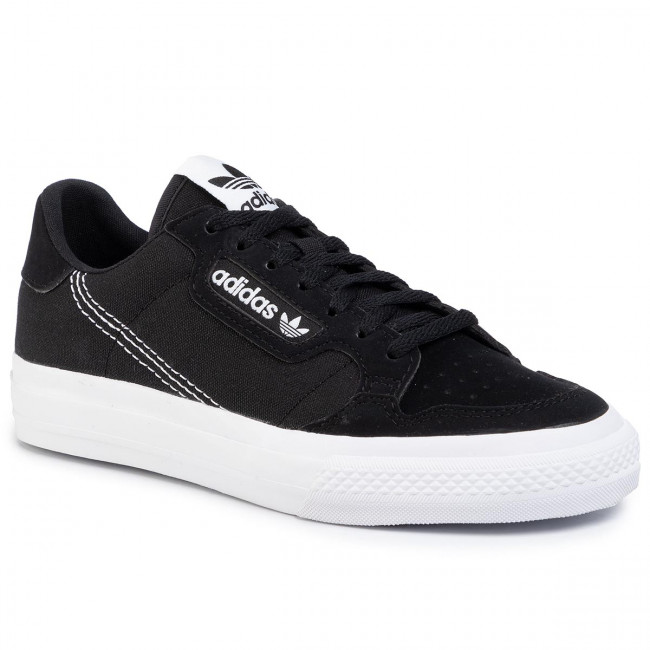 Shoes adidas - Continental Vulc J EF9451 Cblack/Ftwht/Cblack