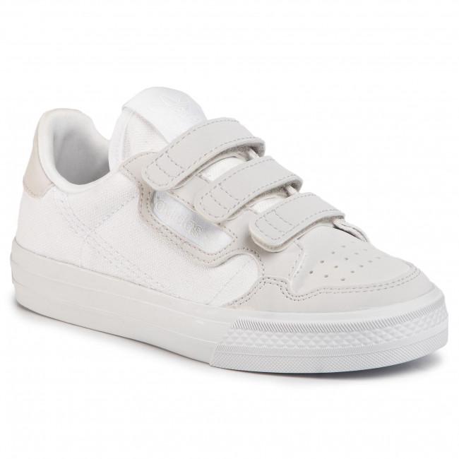 Shoes adidas - Continental Vulc Cf C EG9096 Ftwwht/Ftwwht/Greone