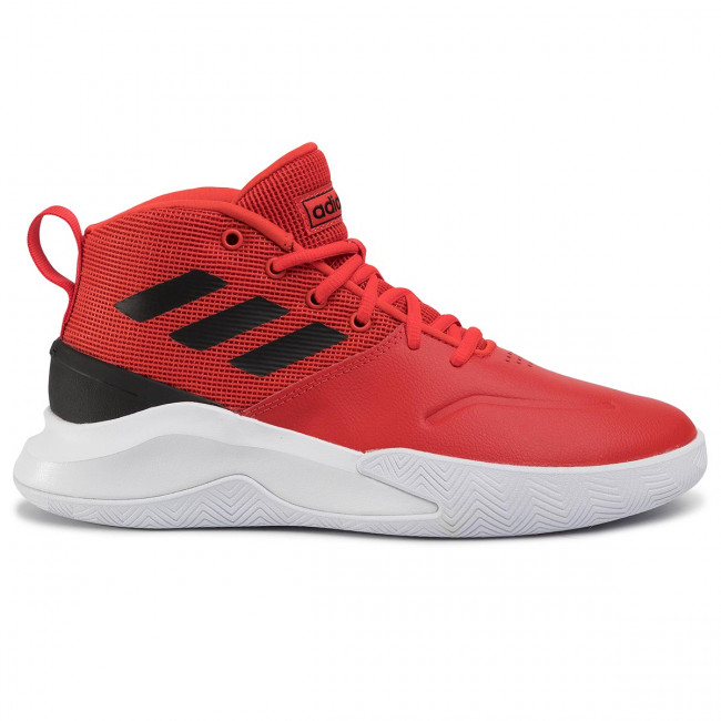 Shoes adidas Ownthegame EE9635 ActredCblackFtwwht