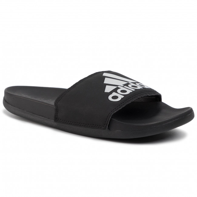 Slides adidas adilette Comfort G28386 CblackSilvmtCblck