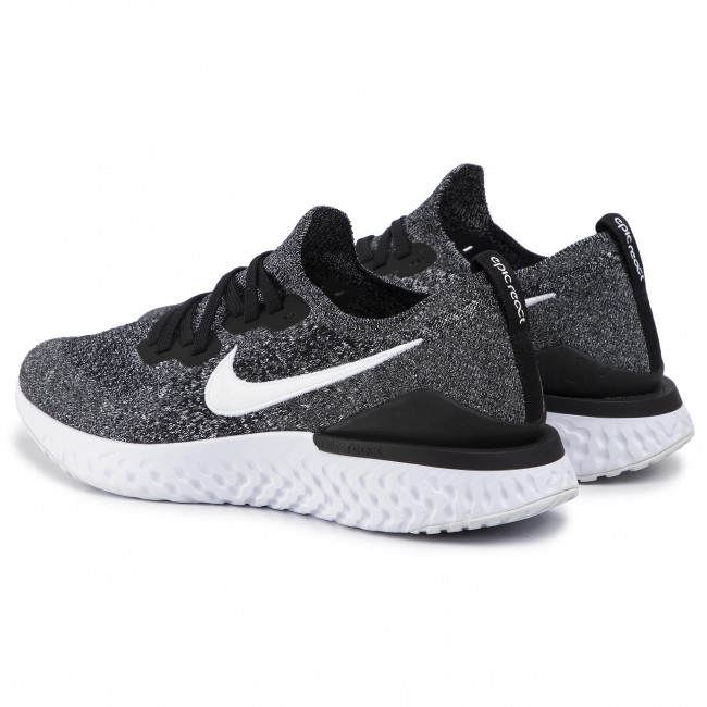Epic React Shoes NIKE - Epic React Flyknit 2 BQ8928 010 Black/White - Indoor ...