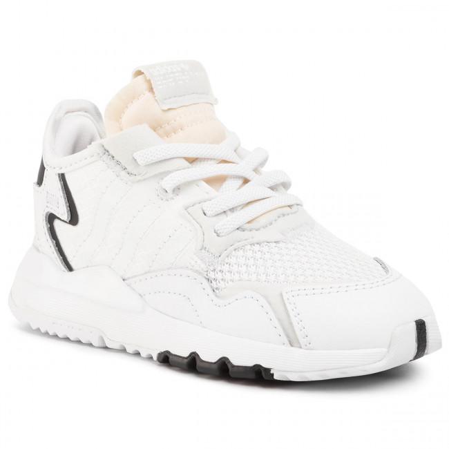 Shoes adidas - Nite Jogger El I EE6479 Ftwwht/Ftwwht/Crywht