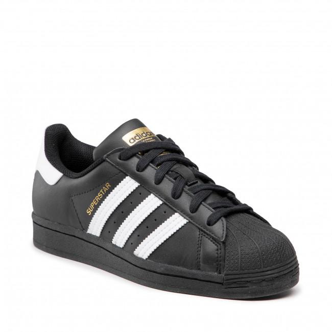 Shoes adidas - Superstar J EF5398  Clack/Ftwwht/Cblack
