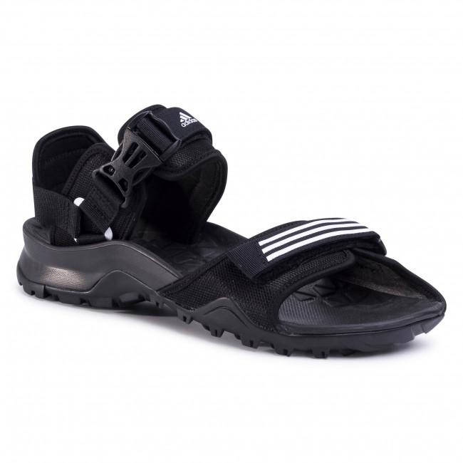 Sandals adidas - Cyprex Ultra Sandal Dlx EF0016 Cblack/Ftwwht/Cblack