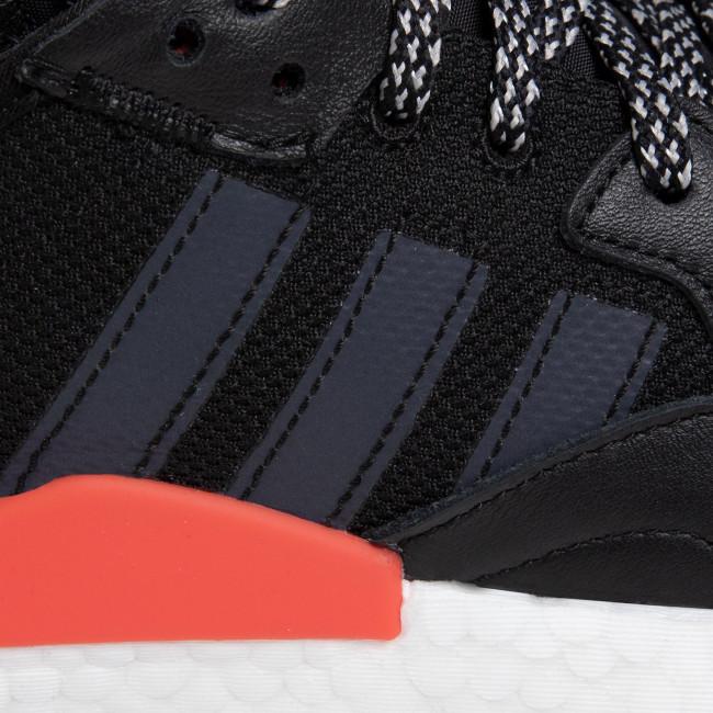 Shoes adidas - Nite Jogger EG6750 Cblack/Ftwwht/Hirere - Sneakers - Low shoes - Men's shoes