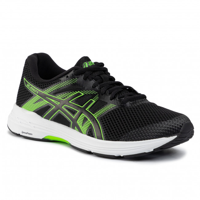 Shoes ASICS Gel Exalt 5 1011A162 BlackGreen Gecko 002