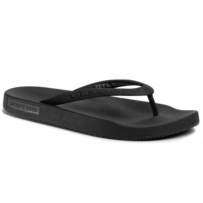 Slides EMPORIO ARMANI - X4QS03 XM290 K001 Black