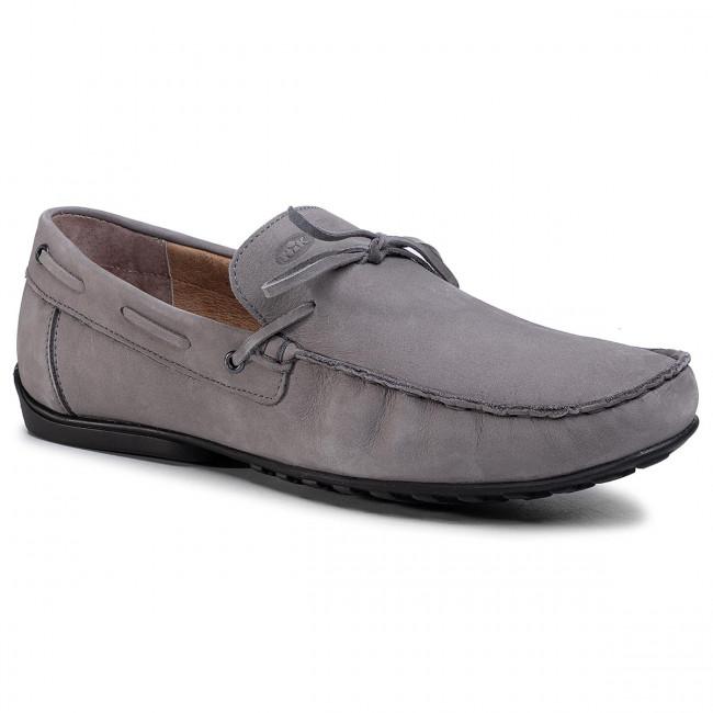 Moccasins NIK - 03-0954-02-5-07-03 Grey