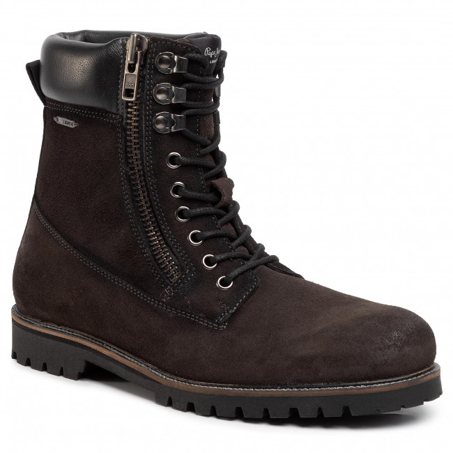 Hiking Boots PEPE JEANS - Melting Woodland PMS50184 Antracite 982