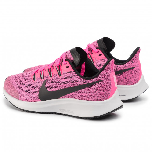 lector Matemático Ventilar  Shoes NIKE - Air Zoom Pegasus 36 GS AR4149 601 Pink Blast/Black/Vast Grey -  Indoor - Running shoes - Sports shoes - Women's shoes | efootwear.eu
