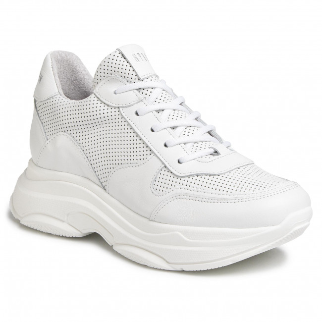 steve madden white leather shoes