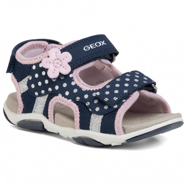 Sandals GEOX - B S.Agasim G. D B020ZD 05014 C0694 S Navy/Pink