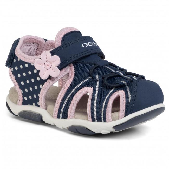 Sandals GEOX B S.Agasim G. E B020ZE 05014 C0694 S NavyPink