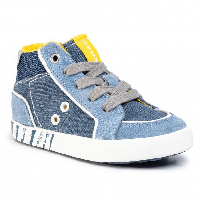 Sneakers GEOX - B Kilwi B. E B02A7E 0NB22 C4B4S M Avio/Dk Sky