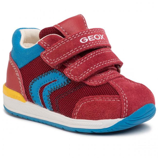Sneakers GEOX - B Rishon B. B B940RB 01422 C7000 Red