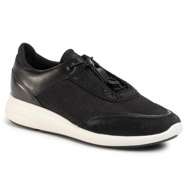 Sneakers GEOX - D Ophira C D021CC 01454 C9999 Black