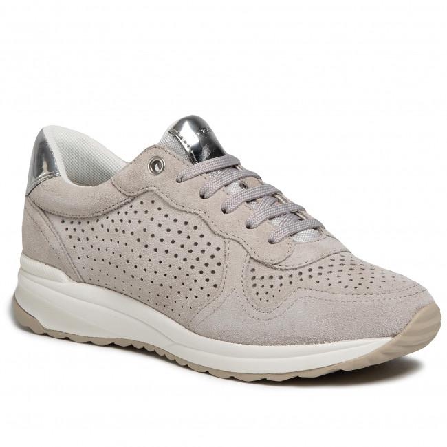 Sneakers GEOX D Airell B D022SB 00022 C1010 Lt Grey 25GrS
