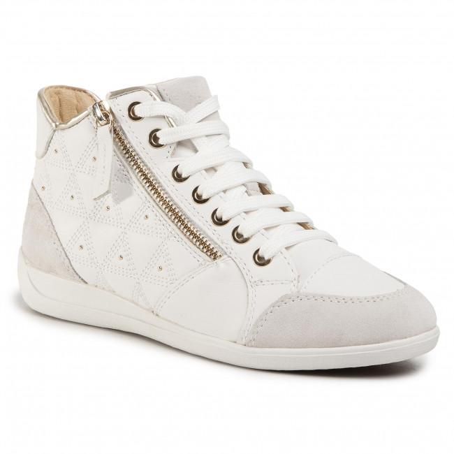 Sneakers GEOX - D Myria B D0268B 08522 C1352 White/Off White