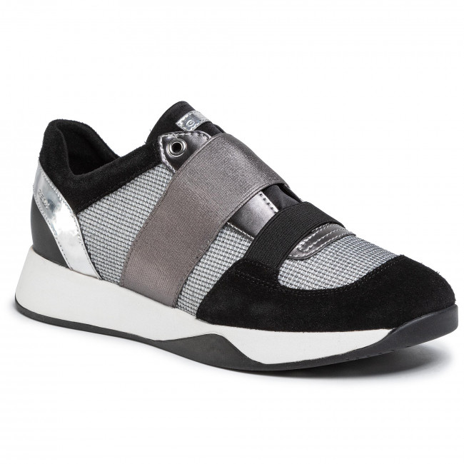 Sneakers GEOX - D Suzzie D D94FRD 0AS22 C0060 Grey Lt/Black