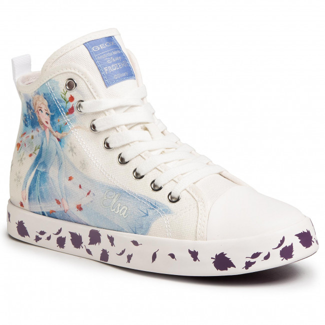 Sneakers GEOX - J Ciak G. F J0204F 000AW C0653 D  White/Multicolor