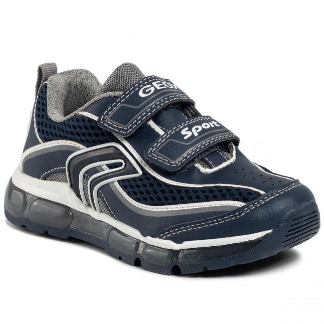 cemento Historiador Inducir  Sneakers GEOX - J Android B. C J0244C 014BU C0661 S Navy/Grey - Velcro -  Low shoes - Boy - Kids' shoes   efootwear.eu