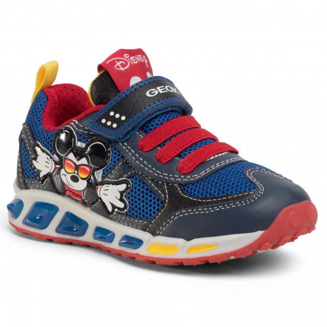 Sneakers GEOX J Shuttle B. A J0294A 01454 C0735 M NavyRed