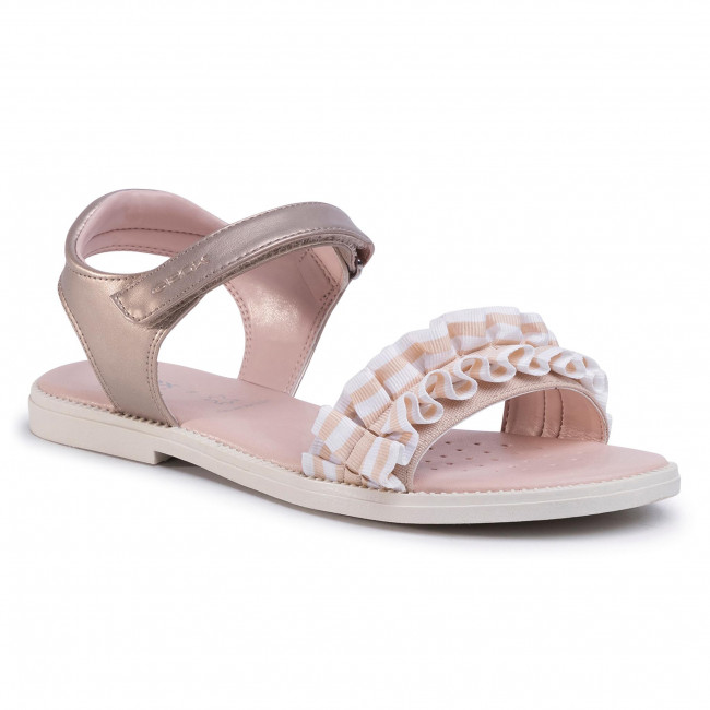 Sandals GEOX - J S.Karly G.G  J9235G 0AJ11 C2010 S Platinum